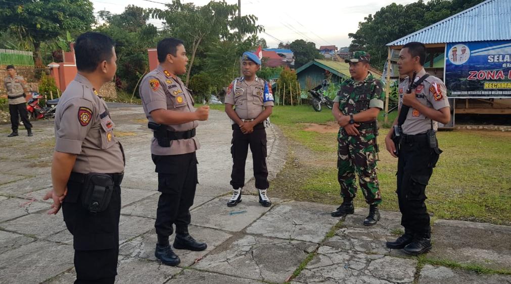 Jelang Pencoblosan, Kapolres Tana Toraja Cek Keamanan Logistik Tiap Kecamatan