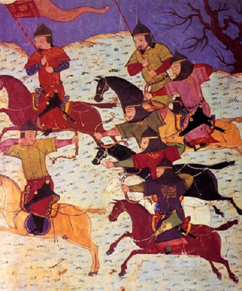 Mongol hordes sudden retreat from Hungary in 1242 attributed to bad weather