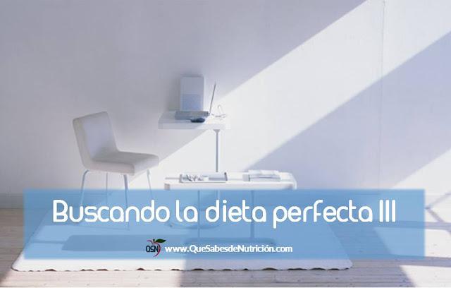 QSN: Buscando la dieta perfecta 3