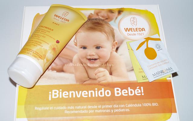 calendula para bebes de weleda