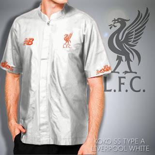 Baju Koko Bola Liverpool