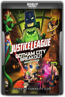LEGO Liga da Justiça Fuga em Massa em Gotham City Torrent BDRip Dual Áudio 2016