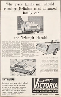Victoria Garage (Weston) Ltd Triumph advert dated 30-06-1967