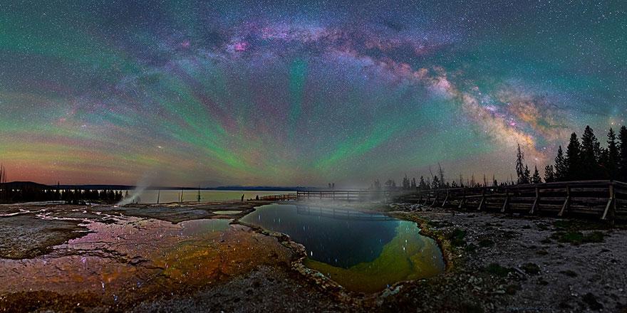 مجرة درب التبانة كما لم تشاهدها من قبل بعدسة المصور ديفيد لين 1