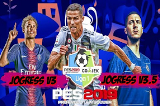 PES Gojek Liga 1 & 2 Indonesia Jogress V3 & V3.5 2019 Textures PPSSPP