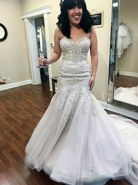 Strapless Mermaid Wedding Dress from BoLee Bridal