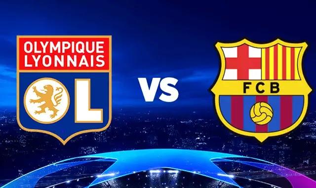 مشاهدة مباراة برشلونة وليون النارية 19-2-2019 بدون تقطيع دوري ابطال اوروبا