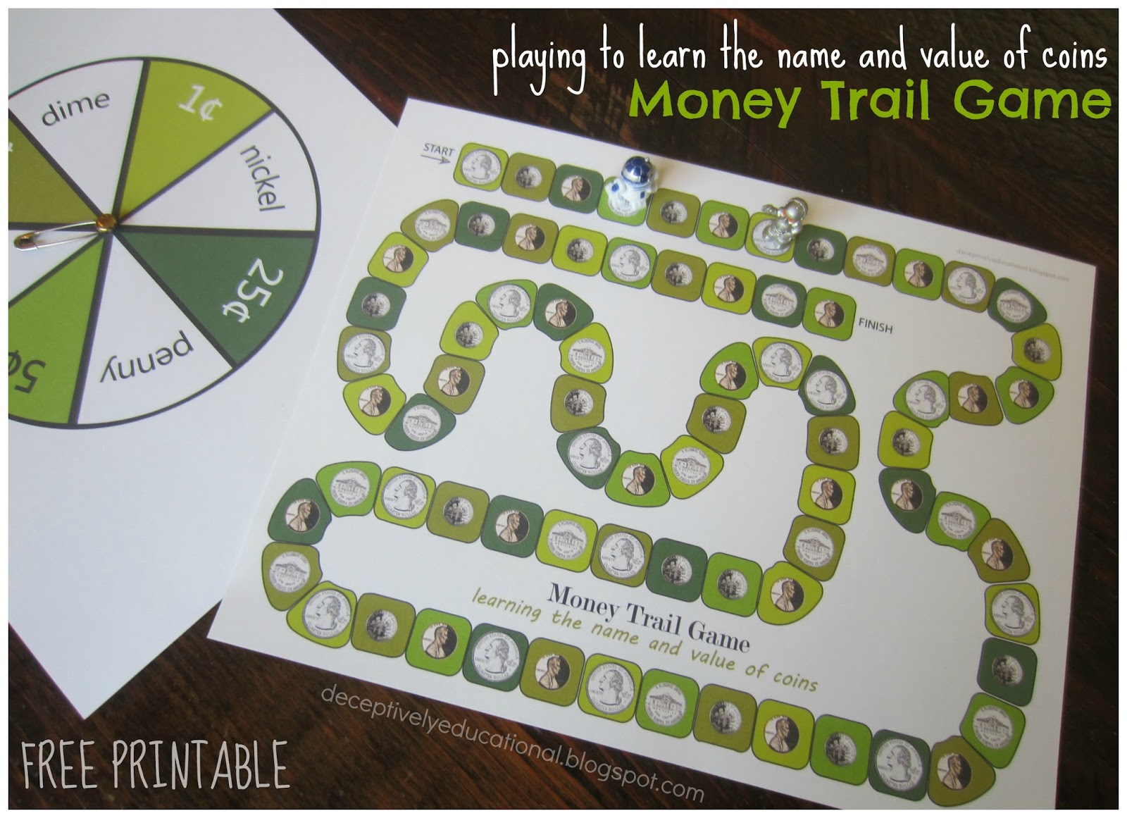 Relentlessly Fun, Deceptively Educational: Money Trail ...