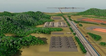 porto%2Bsul Governador, chineses e Bahia Mineração (ERG) celebram acordo para o Porto Sul