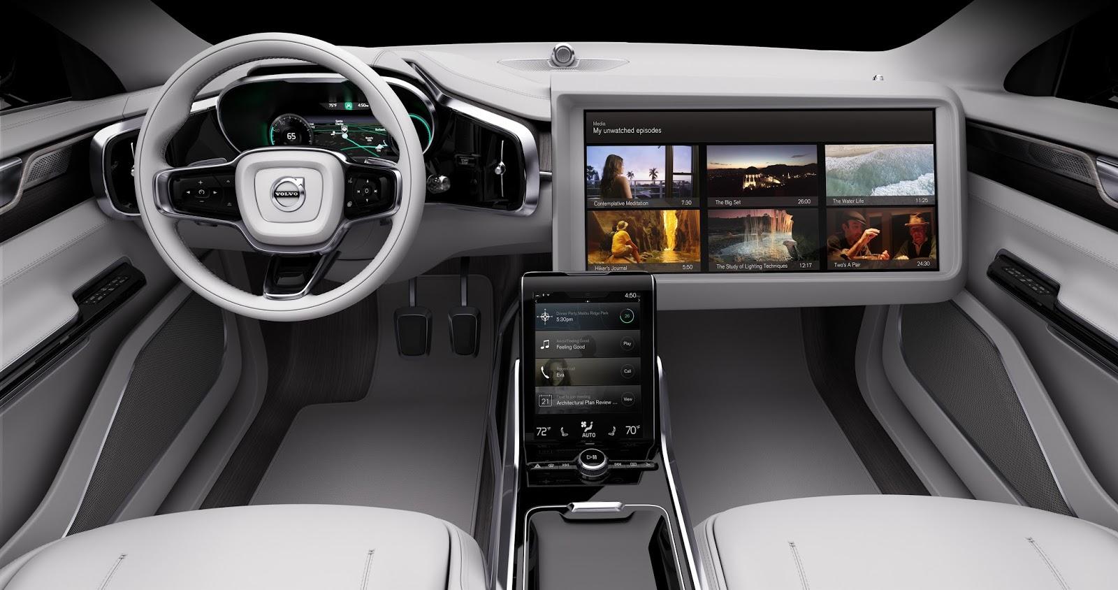 169546 Concept 26 Η Volvo θα κάνει και την αυτόνομη οδήγηση διασκεδαστική Autonomous Driving, Volvo, Volvo XC90, Αυτόνομη οδήγηση