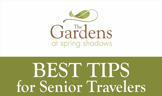 Best Tips For Senior Travelers