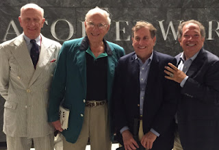 George Mitrovich, Larry Ruttman, Harry Sherr, and Charles Steinberg.