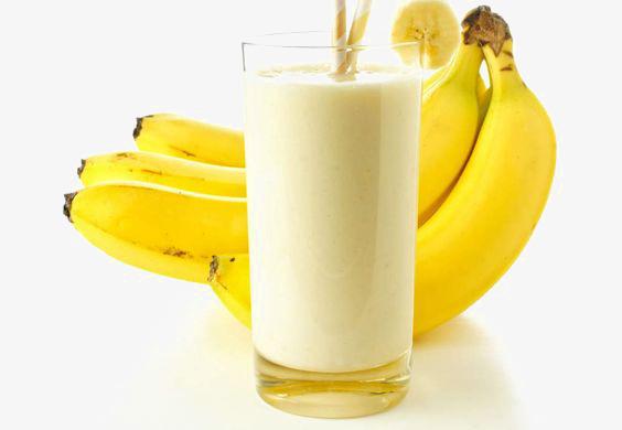 وصفة الموز والحليب لزياده الوزن