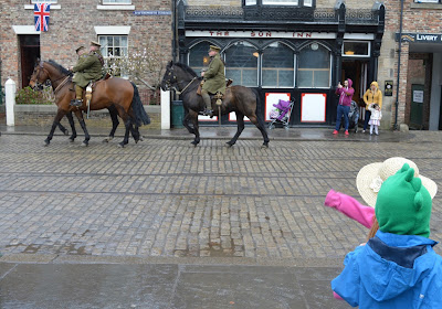 A Bus Trip to the Horses at War Event at Beamish - 1900's town