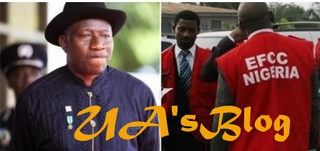 Trouble for GEJ as EFCC reveals how former president directed aide to take 10 suitcases of hard currency into inner room