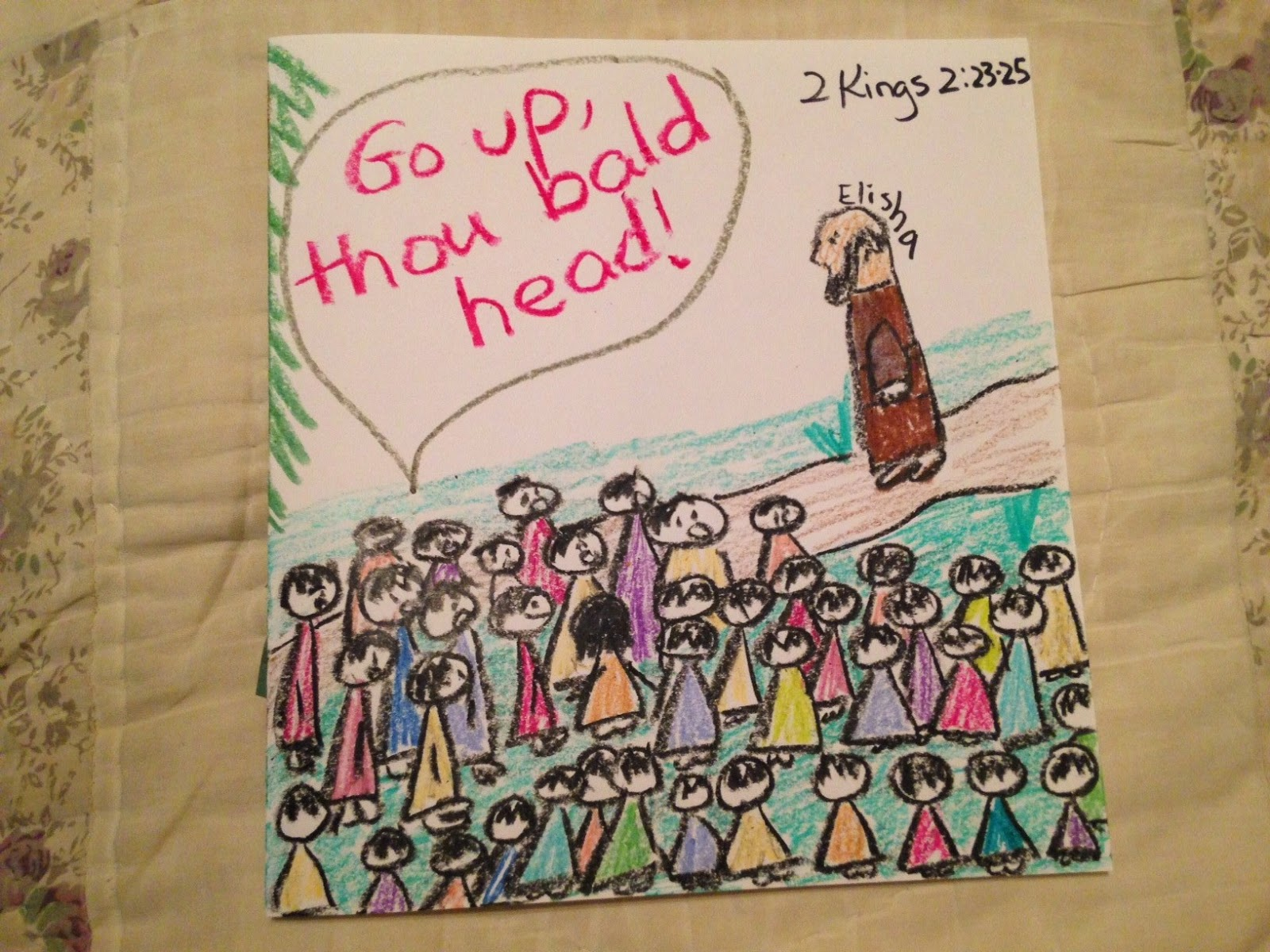 Children S Bible Lessons Lesson Elisha Is Mocked