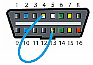 Cara membaca dan menghapus kode DTC system ABS Toyota secara manual