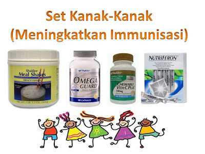 Vitamin Shaklee Untuk Kesihatan Anak-anak Seawal 2 Tahun