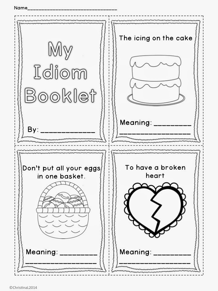 "The Best of Teacher Entrepreneurs: Language Arts - ""Idioms ..."