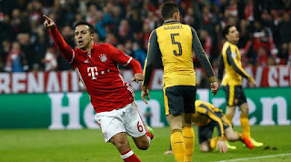 Liga Champions - Arsenal Vs Bayern Muenchen