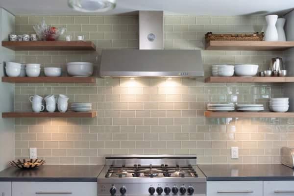 Kelebihan rak dapur model terbuka