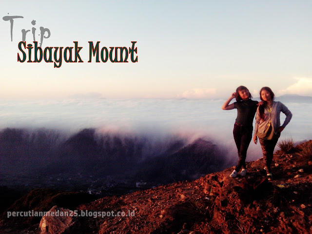 packages tour hiking sibayak mount