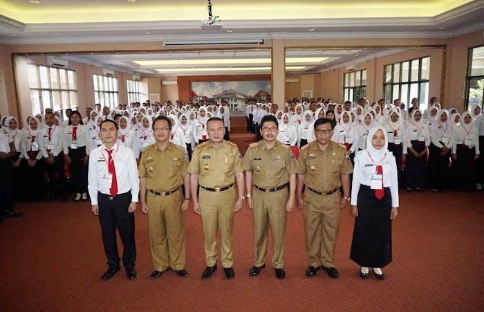 272 CPNS Ikuti Pelatihan Dasar, Diklat Tercepat Sepanjang Sejarah di Lampung Selatan.