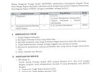 Rekrutmen Tenaga PPNPN Badan Pengawas Tenaga Nuklir Republik Indonesia