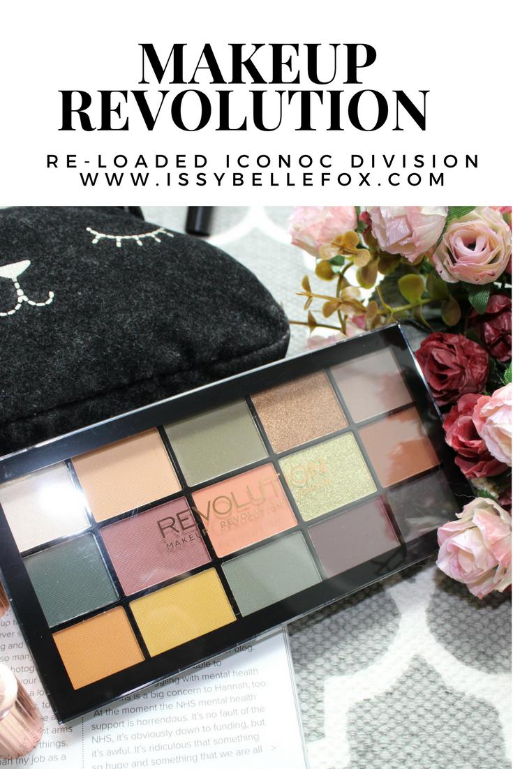Makeup Revolution Re-Loaded Palette Iconic Division pinterest