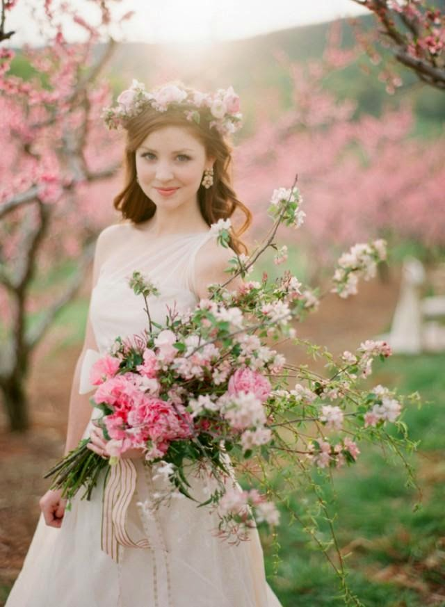 Cherry Blossom Wedding Theme Less Ordinary