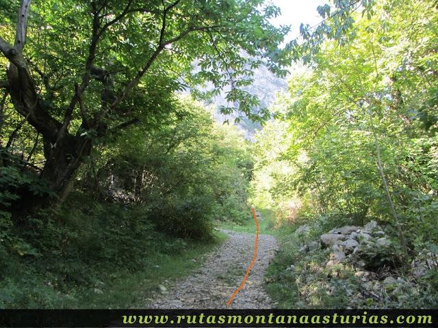 Ruta circular Taranes Tiatordos: Desvío directo a la Foz de la Escalada