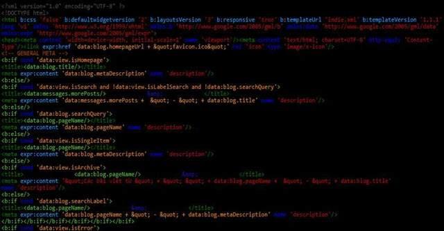 Cách dùng lệnh expr đọc thẻ dữ liệu trong Blogger