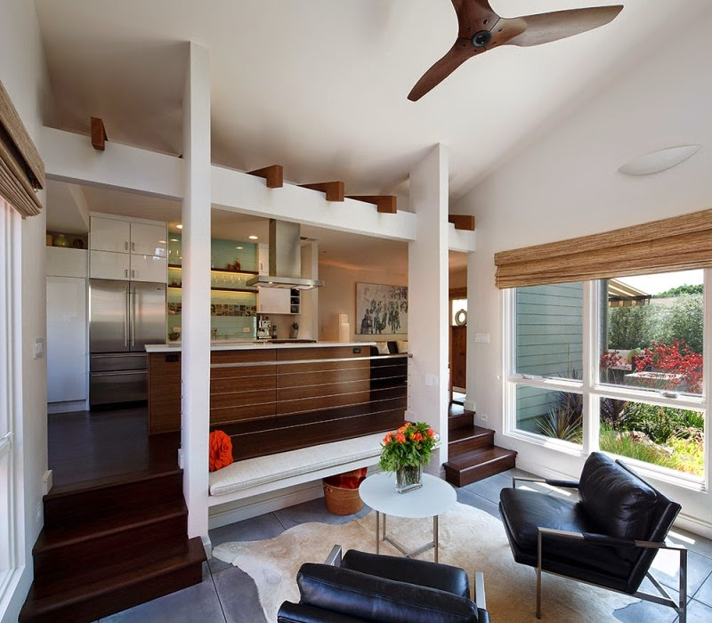 Hogares frescos encantadora casa de campo con un c lido - Como decorar una casa de campo ...