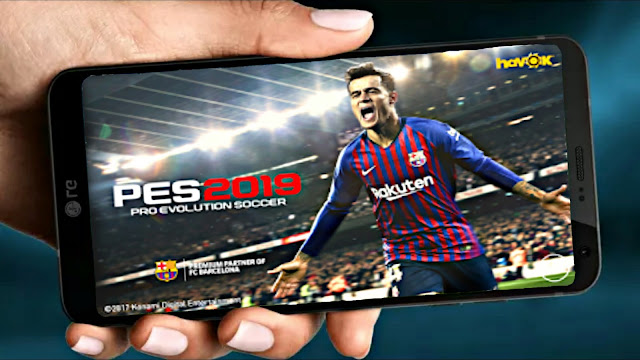 PES 2019 Mobile V 2.3.3 New Menu Patch Face & Kit (Android/IOS)