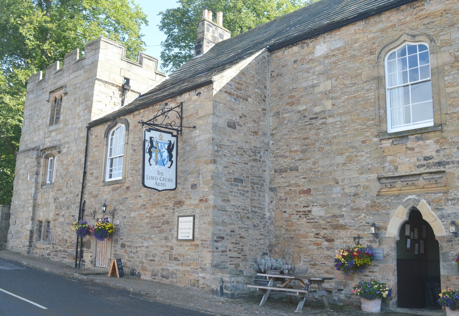 A Luxury Staycation at the Lord Crewe Arms, Blanchland