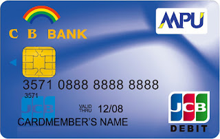 CB Bank MPU to CB Bank Visa Card