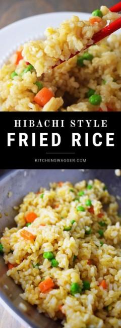 Best Hibachi Fried Rice Recipe
