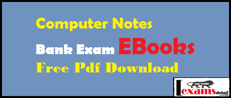 Computer Notes and EBooks Hindi And English Free Pdf Download