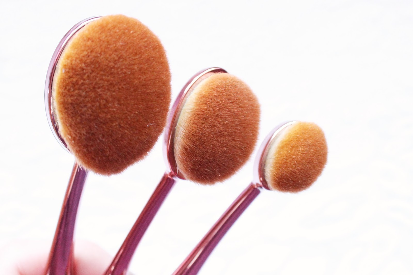 Crown Brush Rose Gold Full Face Contour Set