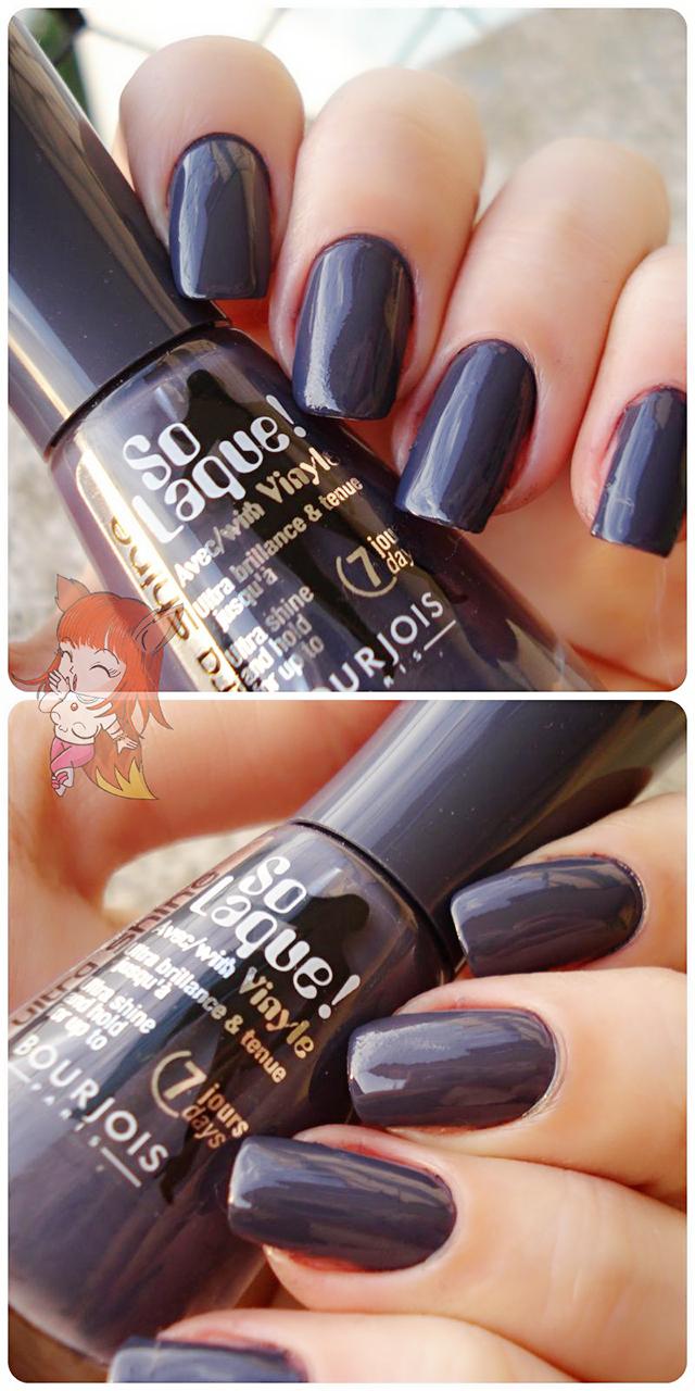 Esmalte Bourjois :: Bleu Asphalte - Resenha