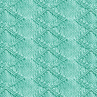 Knit Purl 33: Inverness Diamond, Simple knit and purl stitch combination | Knitting Stitch Patterns.