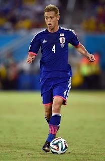 Keisuke Honda selección de Japón