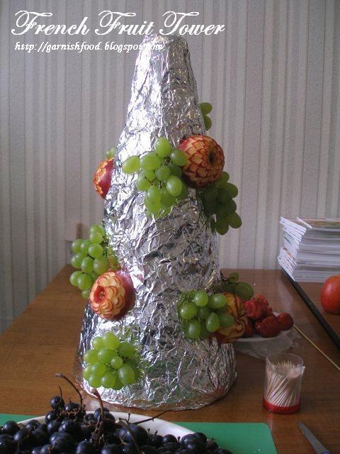 GarnishFoodBlog - Fruit Carving Arrangements and Food Garnishes: How ...
