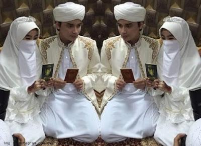 Alvin Faiz menikah