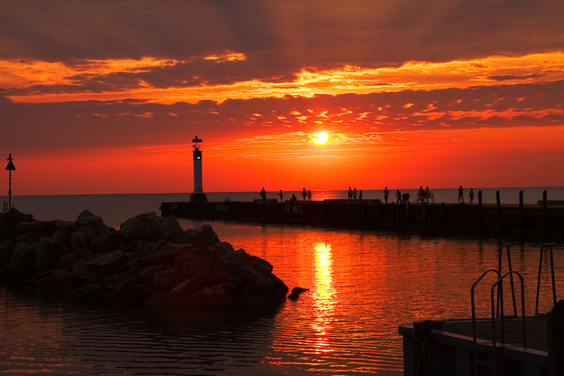 Virtual World Of Blogging Most Beautiful Sunsets Pictures