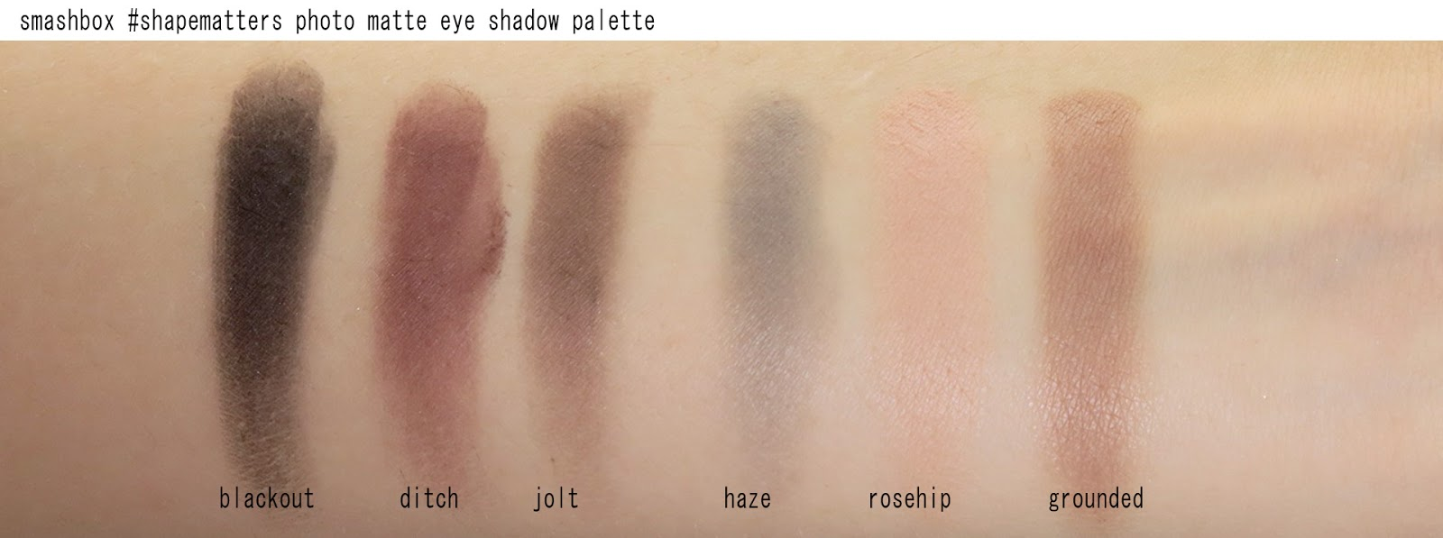 Smashbox Photo Matte Eye Palette Mascara Review Swatches