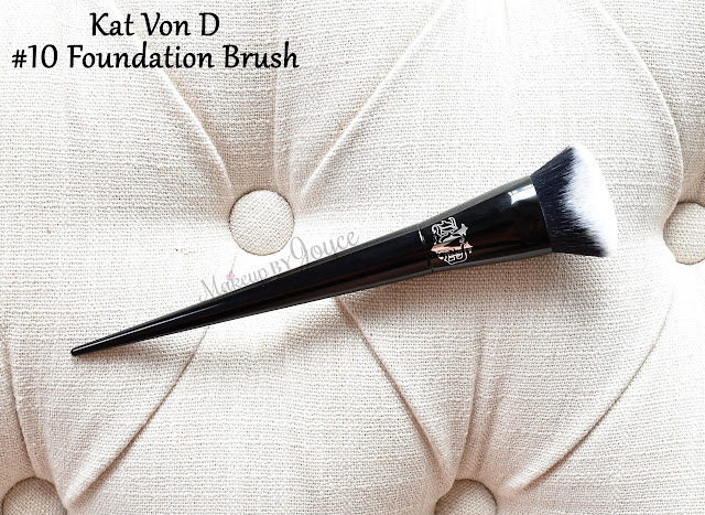Kat Von D Lock-It Edge Foundation Brush Review