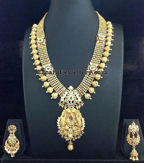 Antique Long Chain with Chandbalis