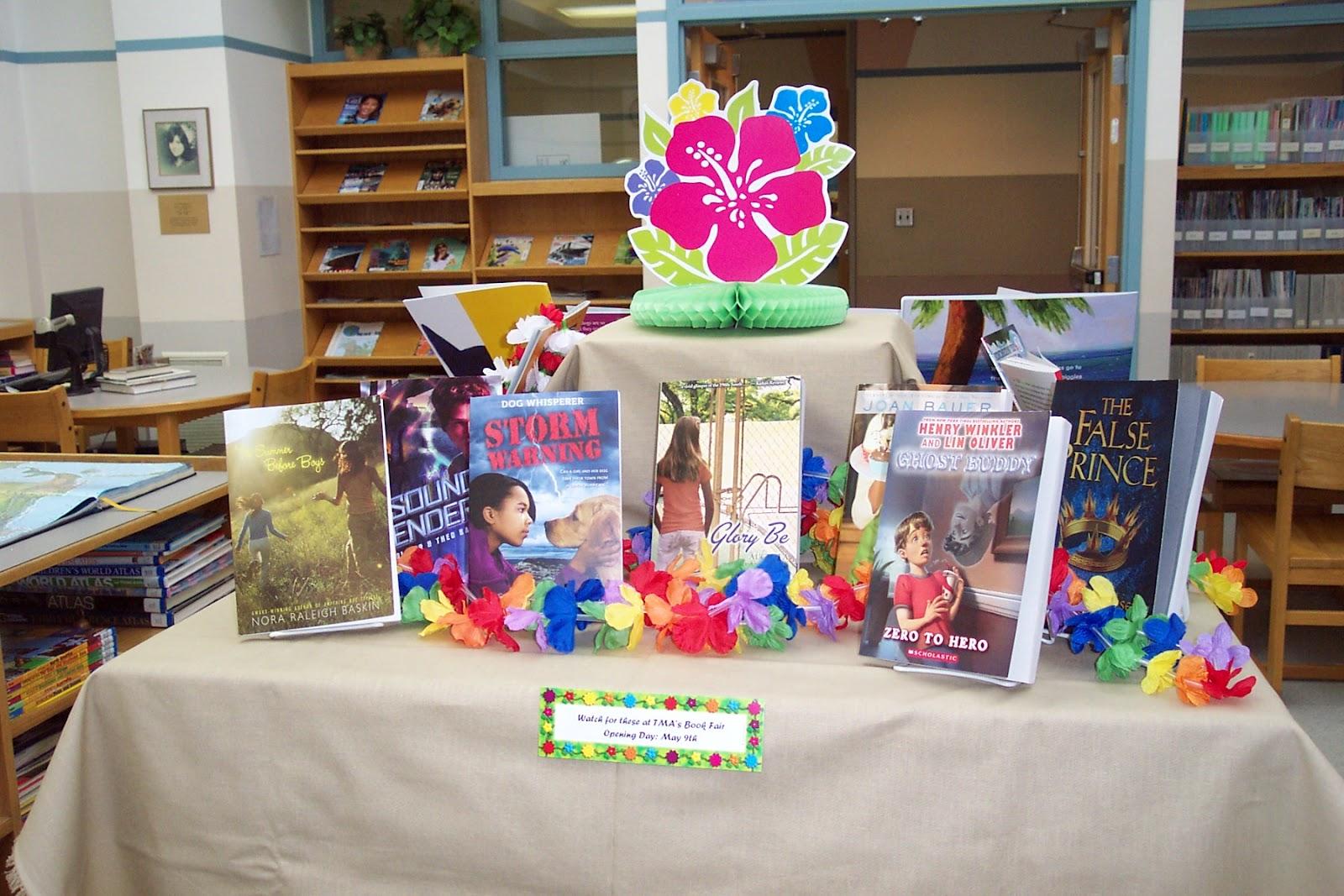 Making Memories With Montessori Education Book Fair Luau
