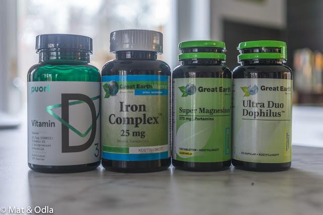 vitaminer och mineraler